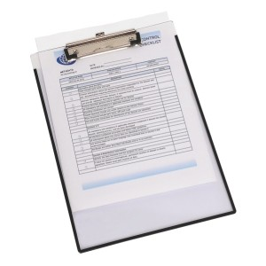 Marbig Clipboard A4 Insert Cover Clearview