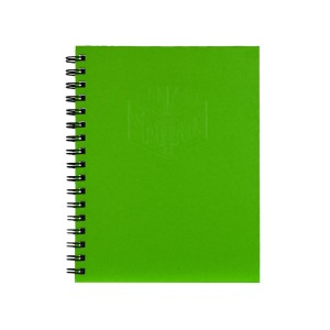 Spirax 512 A4 200 Page Side Opening Hard Cover Notebook Green