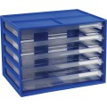 Italplast Fruit A4 Document Cabinet Blueberry