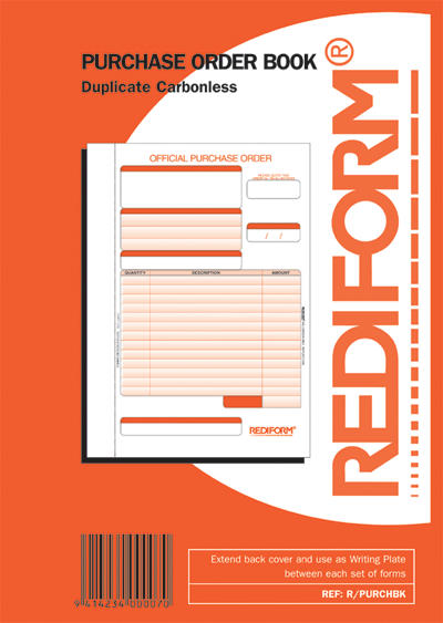 Rediform Duplicate Purchase Order Book