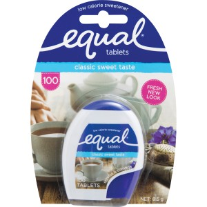 Equal Sweetener Tablets Pack 100