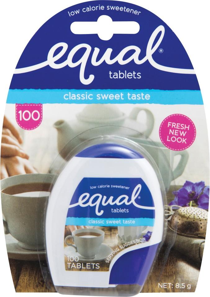 Equal Sweetener Tablets Pack 100