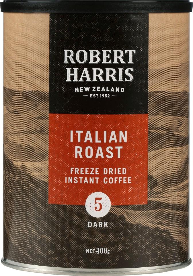 Robert Harris Italian Freeze Dried Instant Coffee 400g Tin