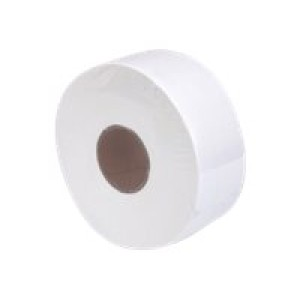 Pacific Deluxe Jumbo Toilet Tissue 1 Ply White 500 meters per Roll DJ1 Carton of 8