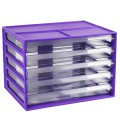 Italplast Fruit A4 Document Cabinet Grape