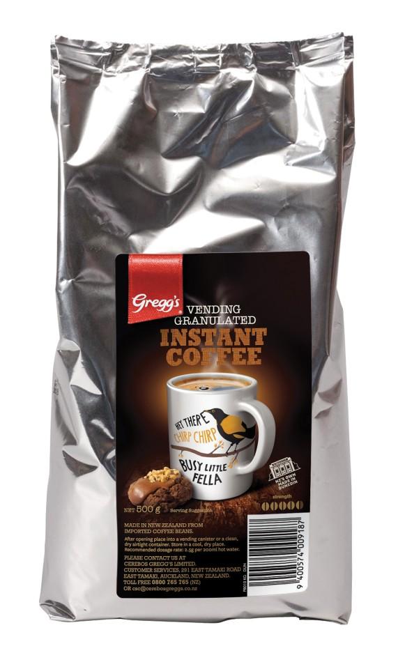 Greggs Vending Granulated Instant Coffee 500g