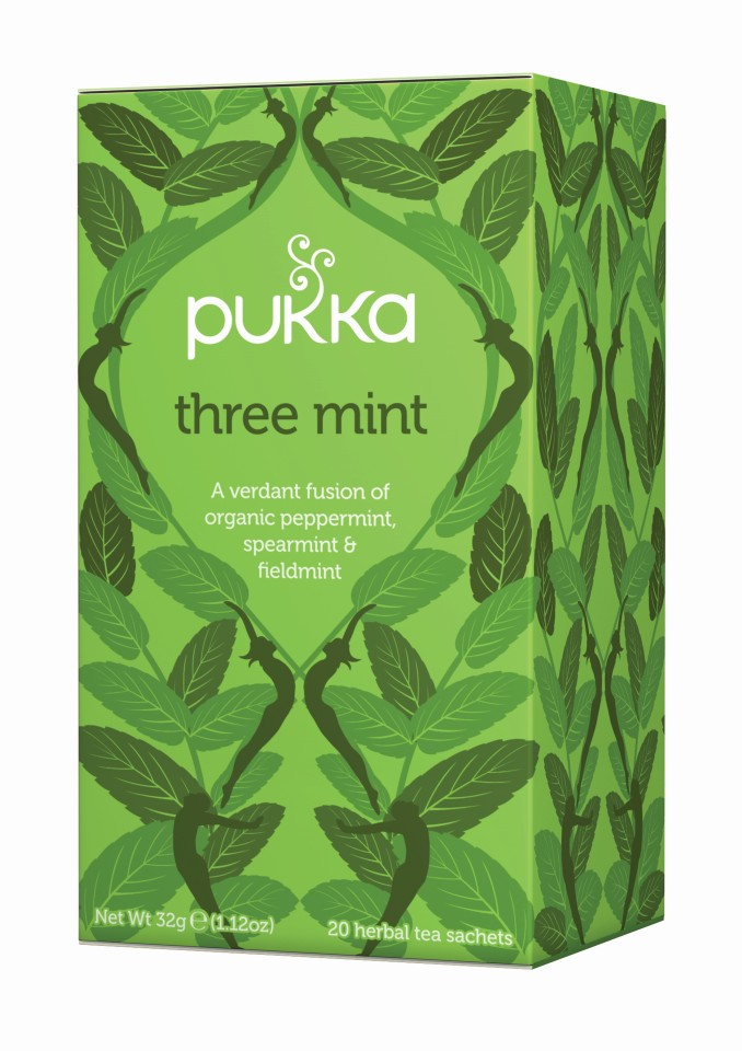Pukka Three Mint Enveloped Tea Bags 20's
