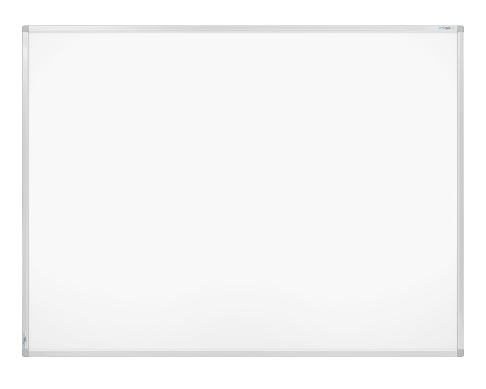 Boyd Visuals Clarity Porcelain Whiteboard 600 x 900mm