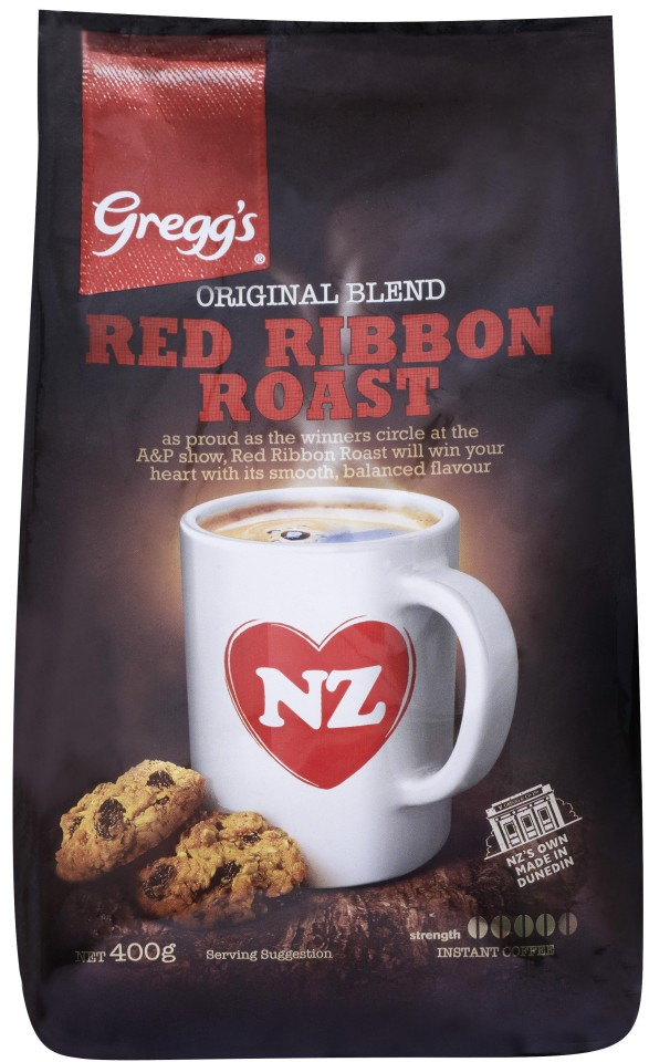 Greggs Red Ribbon Roast Instant Coffee Refill 400g