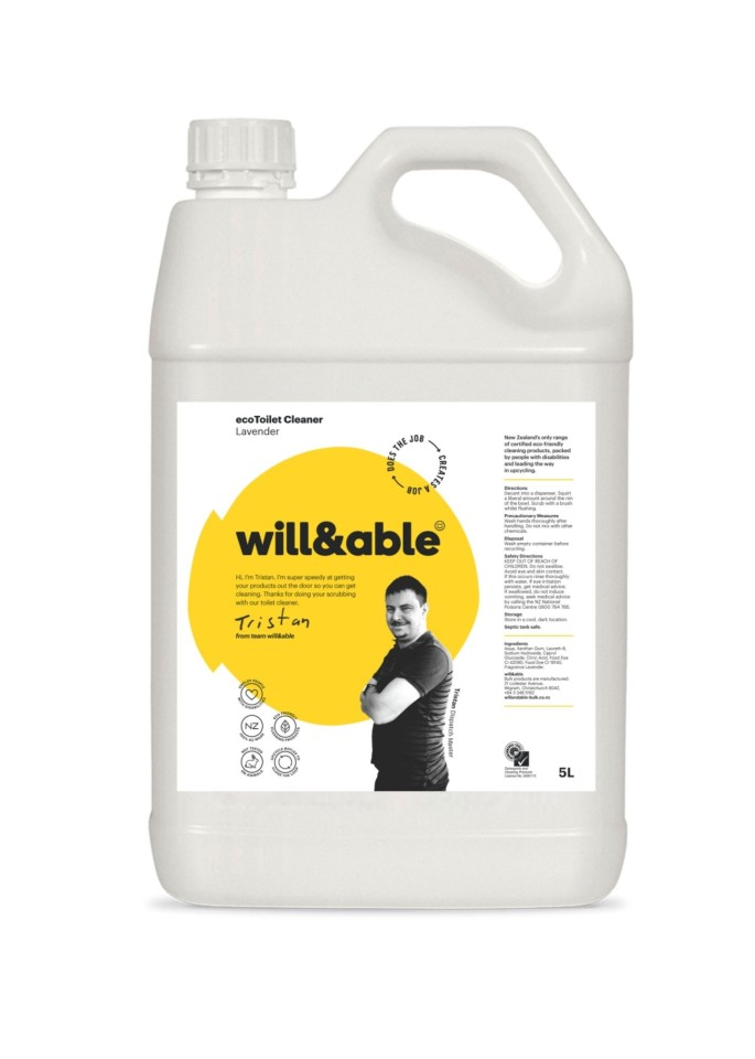 will&able ecoToilet Cleaner - 5L