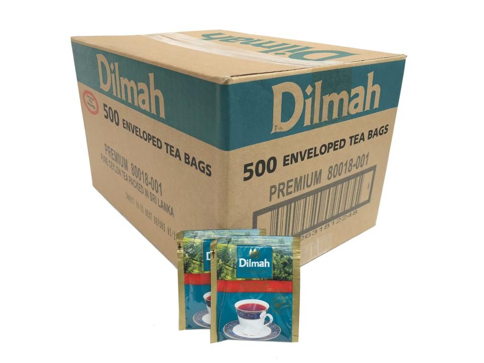 Dilmah Premium Enveloped Tea Bags Pack 500
