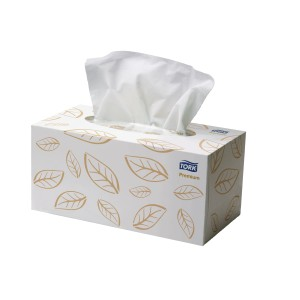 Tork Premium Extra Soft Facial Tissues 2 Ply White 2170303 Box of 224