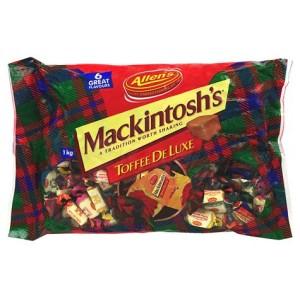 Allens Mackintosh Toffees Bag 1Kg
