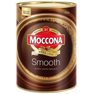 Moccona Smooth Instant Granulated Coffee Tin 500g
