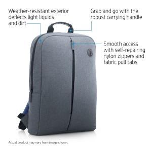 HP Atlantis Value Backpack Black 15.6in