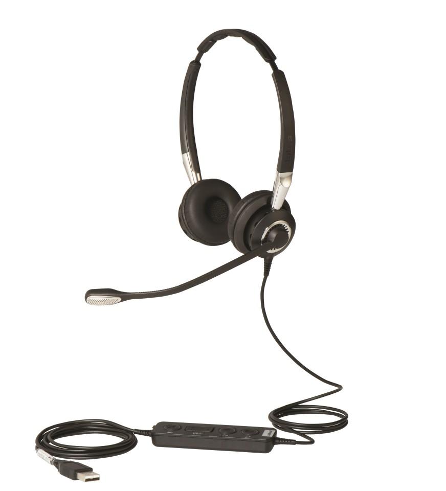 Jabra Biz 2400 Ii Quick Disconnect Stereo Headset