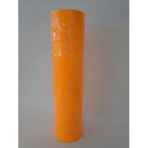 21X12mm Fluoro Orange Label Permanent Adhesive