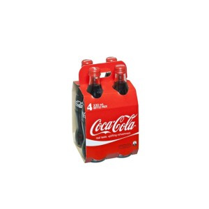 330Ml Coca-Cola Bottles Pkt 4