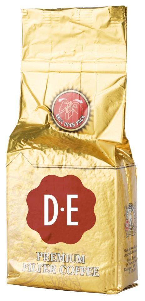 DE Premium Ground Coffee Medium Roast Brick 60g