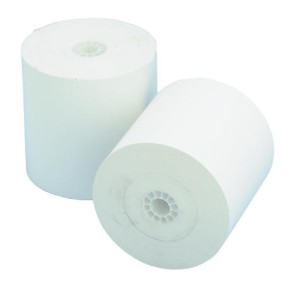 NCR Thermal Machine Roll 1 Ply 57mm x 57mm White Pack of 10