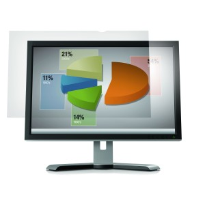 3M Anti-Glare Filter for 23 Inch Widescreen Desktop LCD Monitor Clear