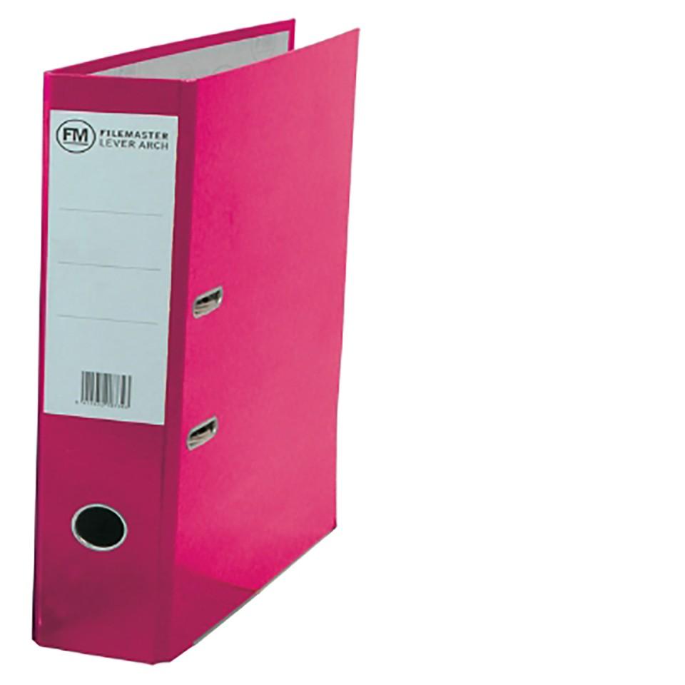 FM Binder Vivid Shocking Pink A4 Lever Arch