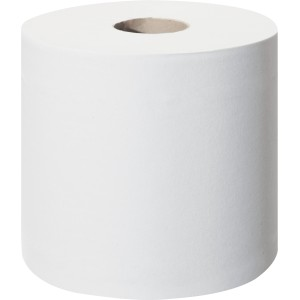 Tork SmartOne T9 Mini Toilet Roll 2 Ply 620 Sheets per Roll 472193 Pack of 12