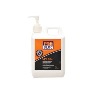 Pro-Bloc 50+ Sunscreen 1L Pump Bottle Ea