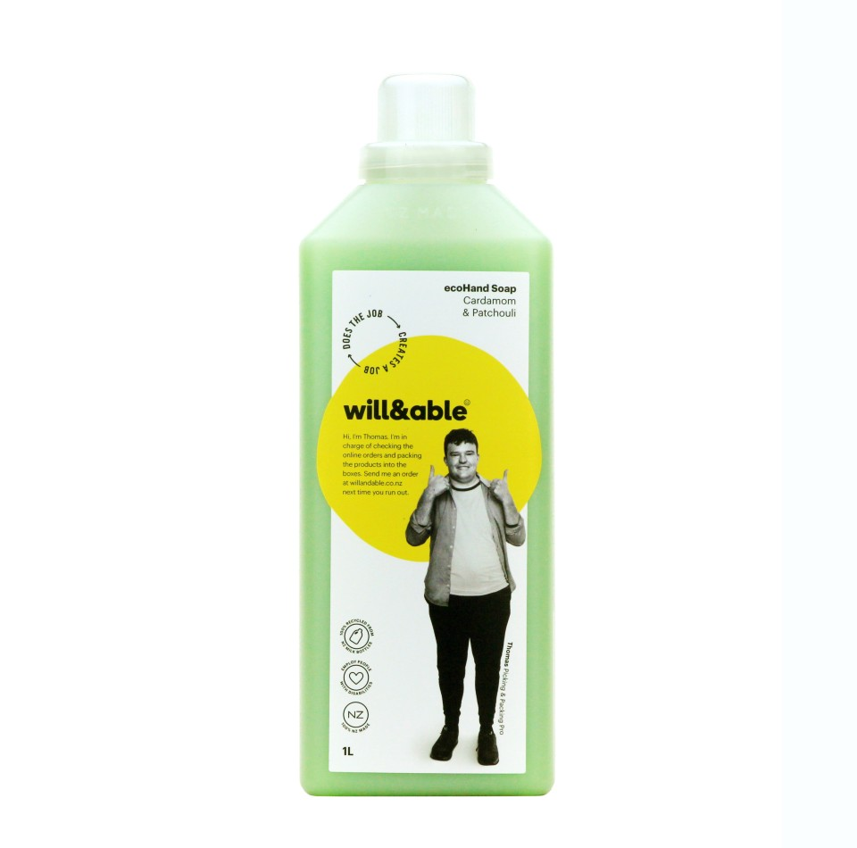 will&able ecoHand Soap Refill - 1L