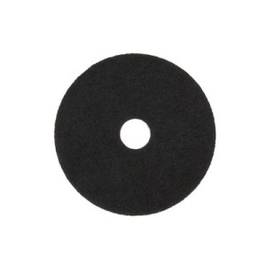 3M 7200 40cm Stripper Floor Pad Black