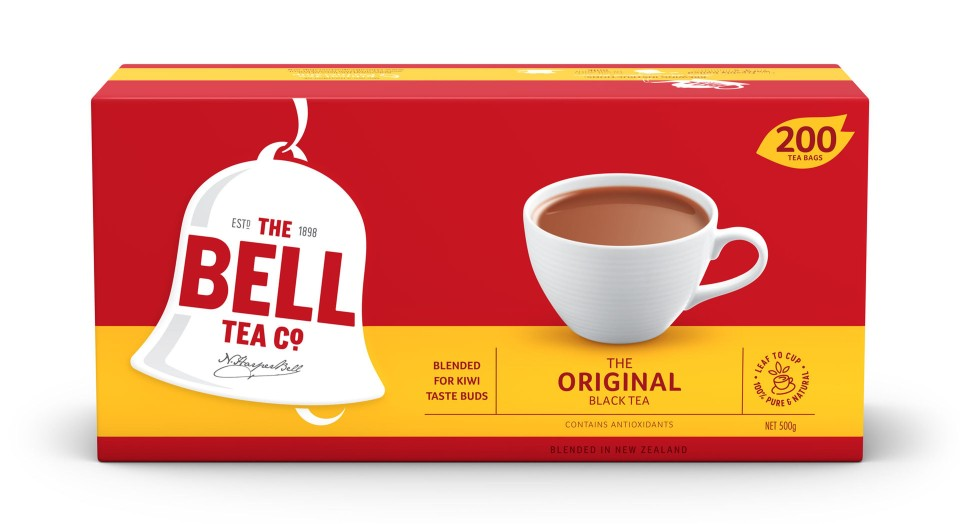 Bell Original Tagless Tea Bags Packet 200