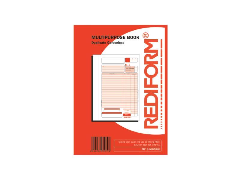 Rediform Duplicate Multipurpose Book