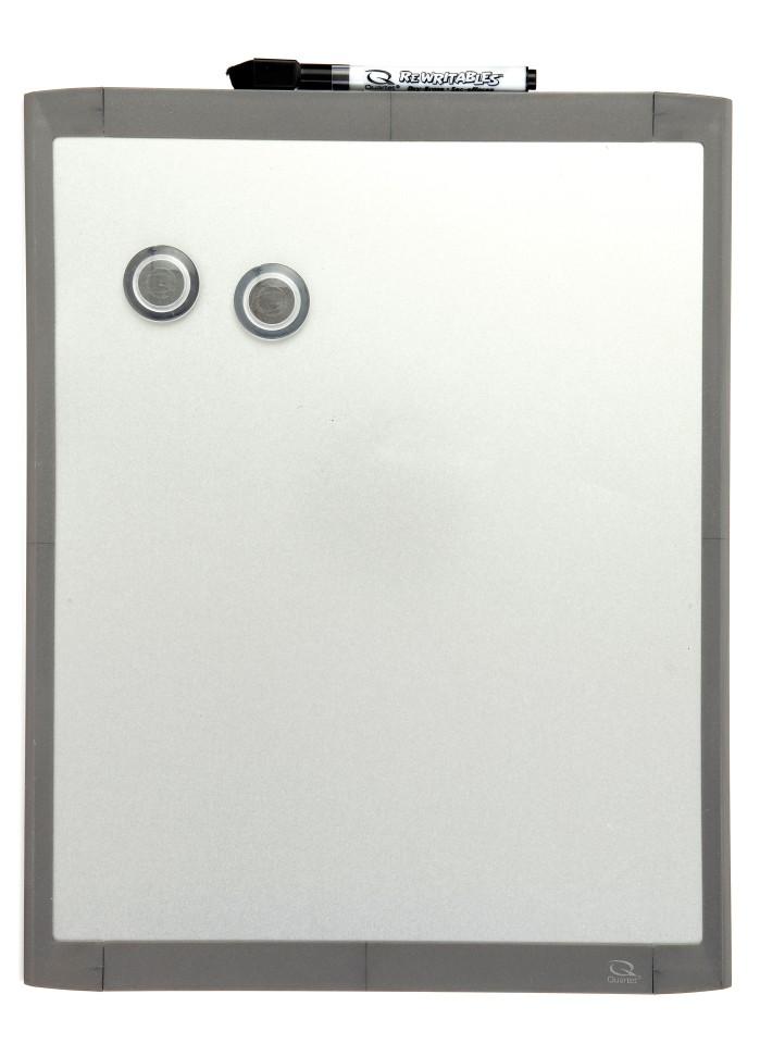 Quartet Basics Silver Whiteboard 280 x 360mm