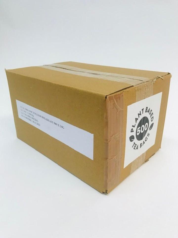 Trade Aid English Breakfast Black Tea Bags Box 500