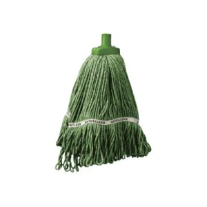 Oates Duraclean Hospital Launder Mop 350gm Green EOSM318G