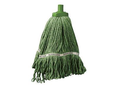 Oates Duraclean Hospital Launder Mop 350gm Green EOSM318G