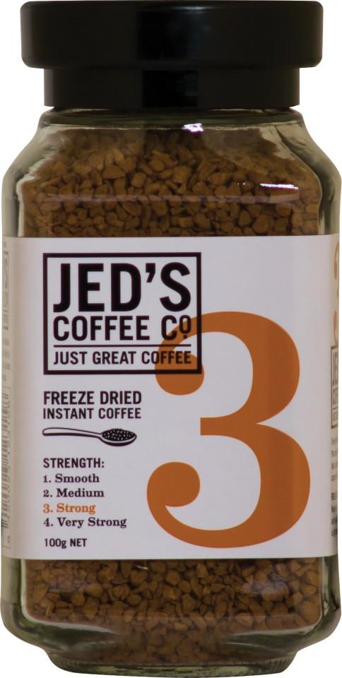 Jed's No. 3 Freeze Dried Instant Coffee Jar 100g