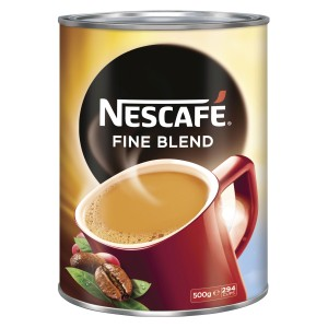 Nescafe Fine Blend Instant Coffee Tin 500g