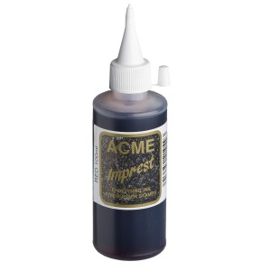 Acme Imprest Endorsing Ink 100mL 7012 Red