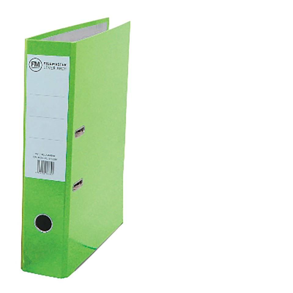 FM Binder Vivid Lime Green A4 Lever Arch