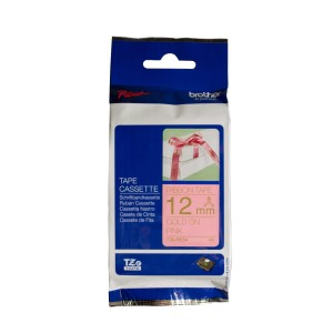 Brother TZe-Re34 Gold On Pink 4m Ribbon Tape