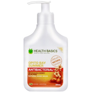Health Basics Handwash Opito Bay Summer Pump 300ml