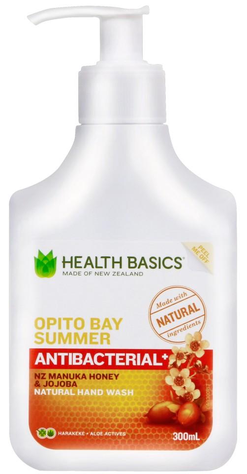 Health Basics Handwash Opito Bay Summer Pump 300ml