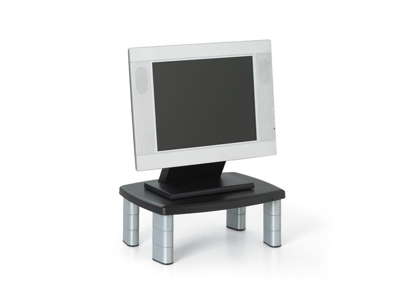 3M Ms80B Adjustable Monitor Stand Black Top