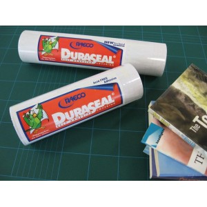 Duraseal Clear Gloss Book Covering 250mm Wide x 22.5M Long Roll