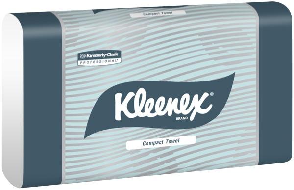 Kleenex Compact Hand Towel White 90 Sheets per Pack 4440 Carton of 24