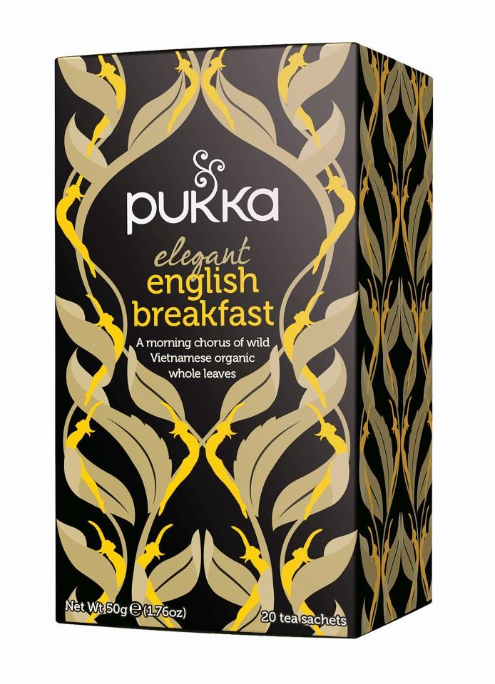 Pukka Elegant English Breakfast Enveloped Tea Bags 20's