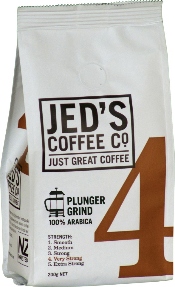 Jed's No. 4 Plunger/Filter Coffee 200g
