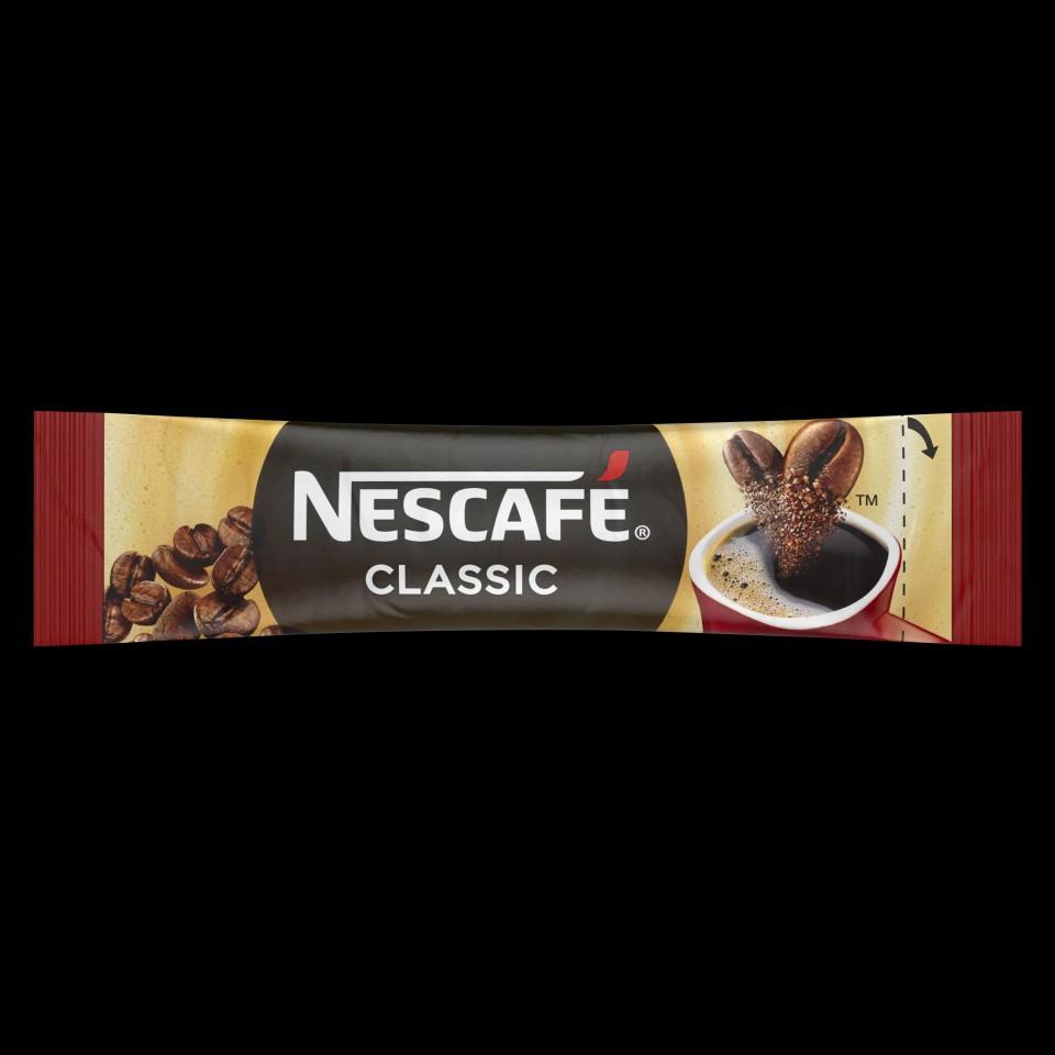 Nescafe Classic Granulated Instant Coffee Sticks 1.5g Box 280