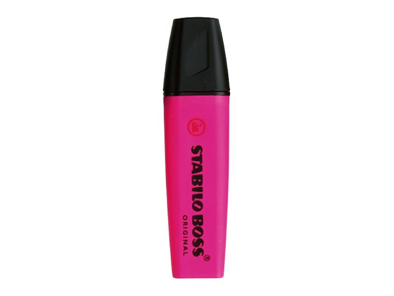 Stabilo Boss Highlighter Chisel Tip 2.0-5.0mm Pink